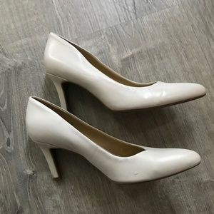 White Heeled Shoes
